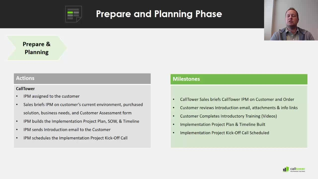 Implementation Prepare and Planning