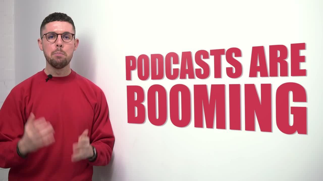 Podcast ebook video