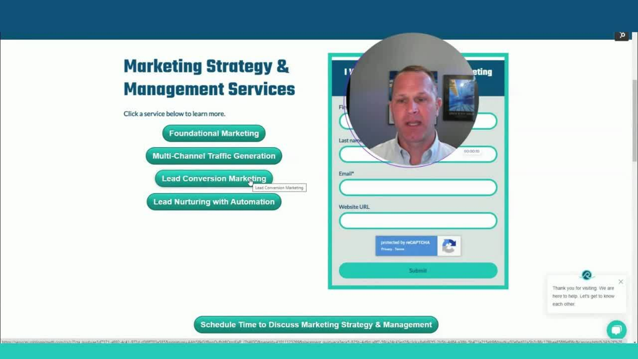 Marketing Strategy & Management Services Intro