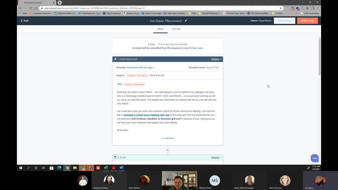 Building Automated Sequences in HubSpot for Re-engagement