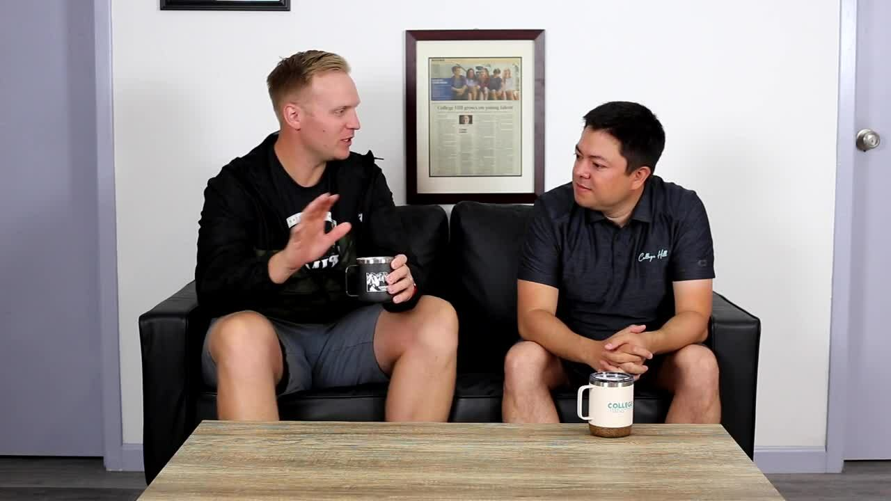 Coffee with College Hill - Kamiak part one
