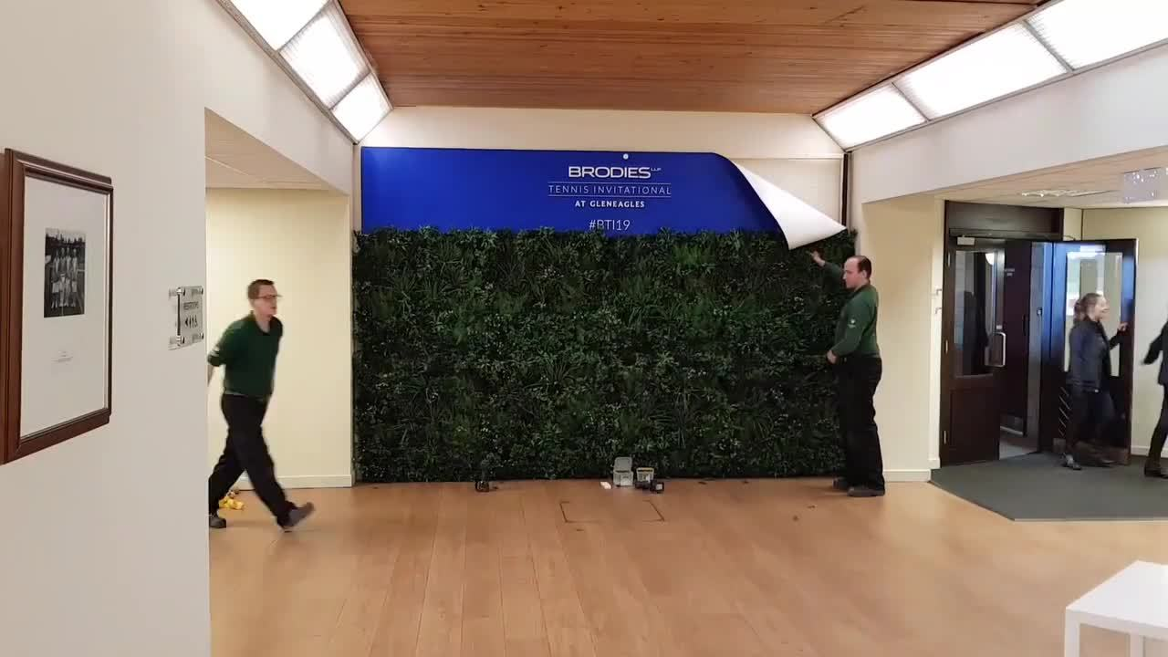 gleneagles selfie wall movie
