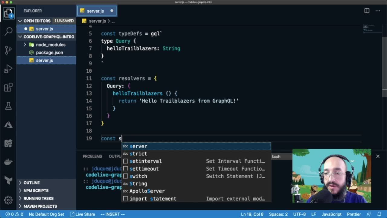 Video: CodeLive: Build a GraphQL API Integrated with Salesforce