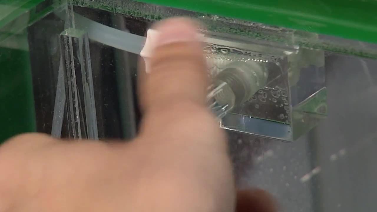 Salt-Spray-Installation
