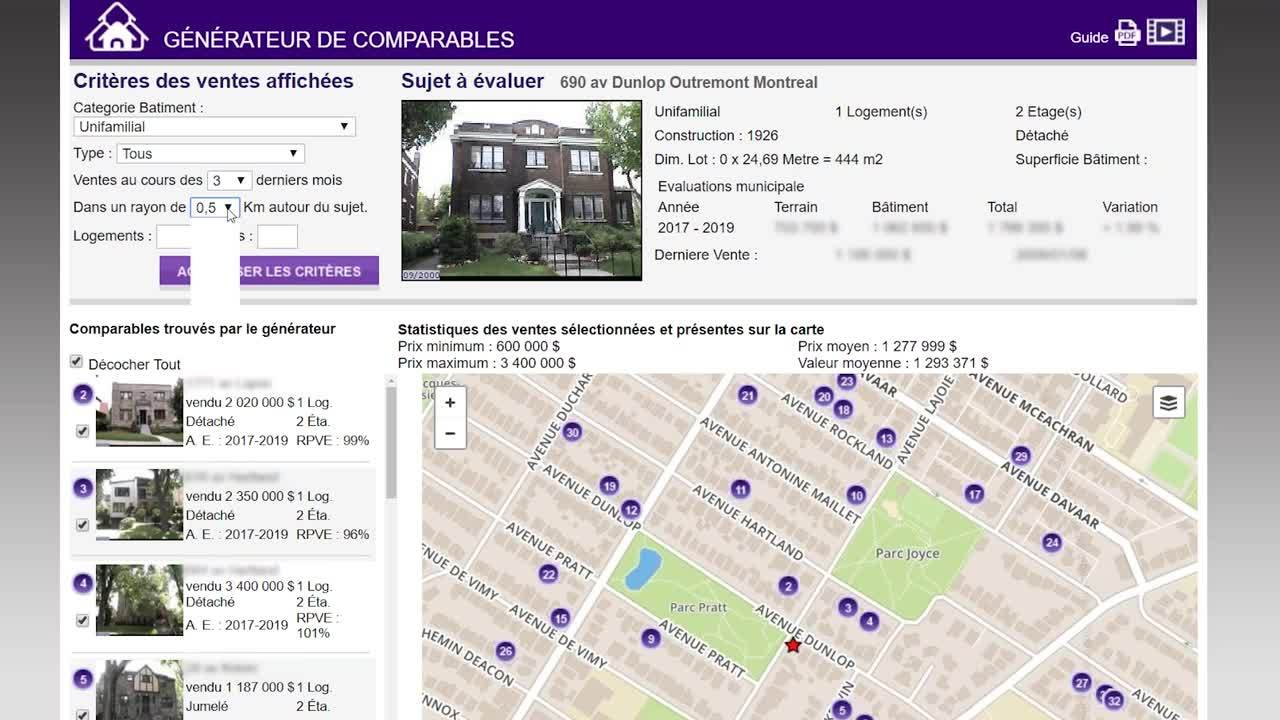 JLR_GenerateurComparables