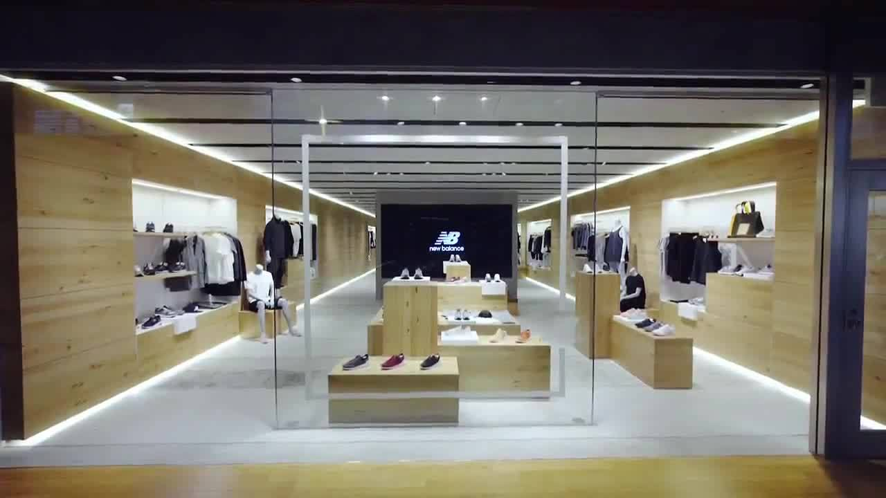 GG Project for New Balance Lifestyle Store of the Future | NB Roppongi Store, Japan