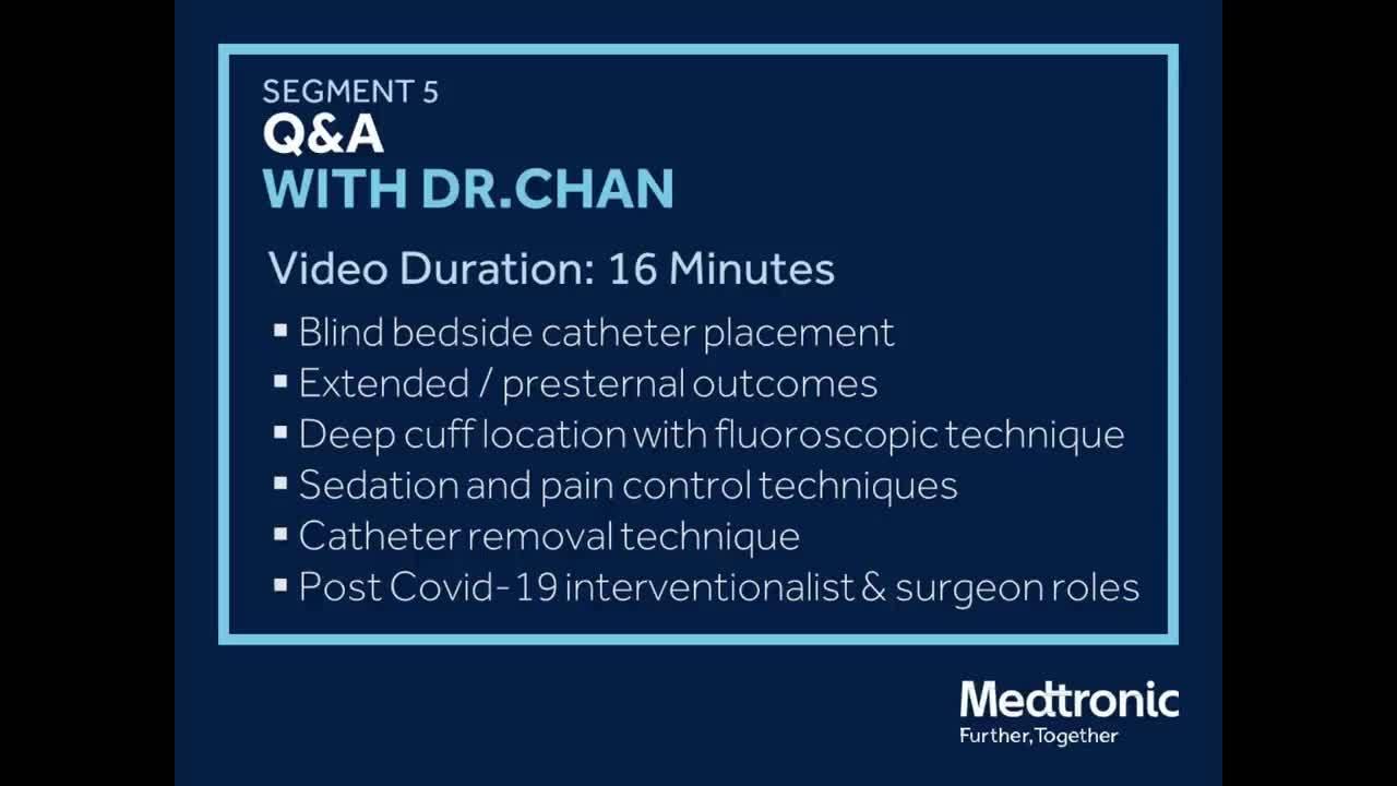 Segment 5: Peritoneal Dialysis Webinar with Dr. Micah Chan