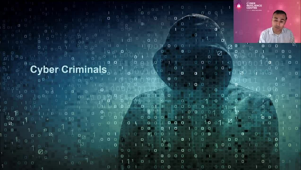 9 - Image of a cybercriminal is unhelpful