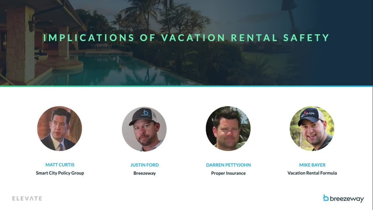Implications of Vacation Rental Safety