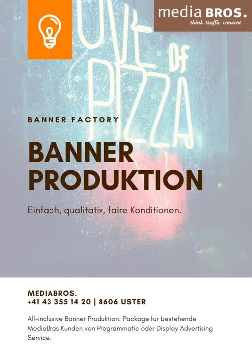 Banner factory