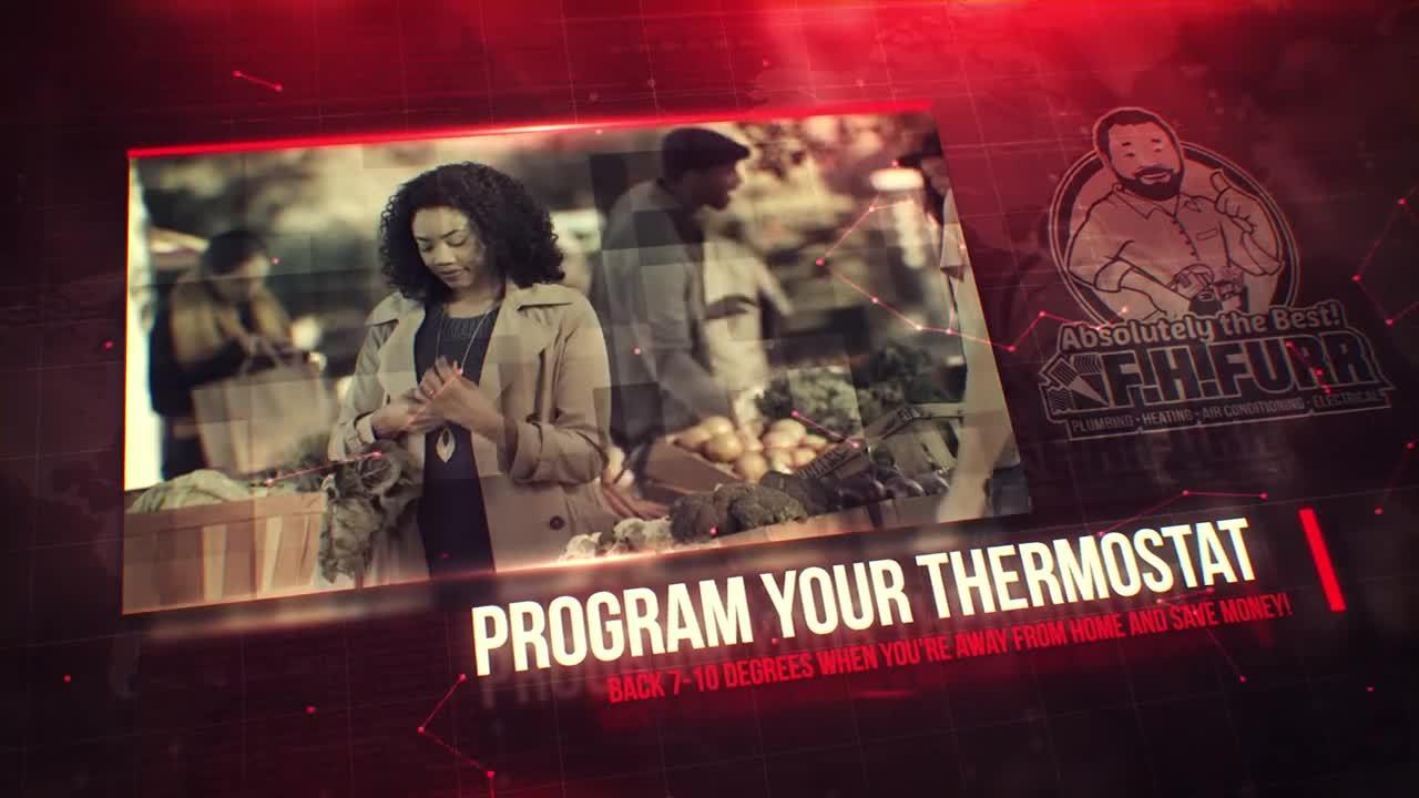 Survival Tip HVAC Programmable Thermostat