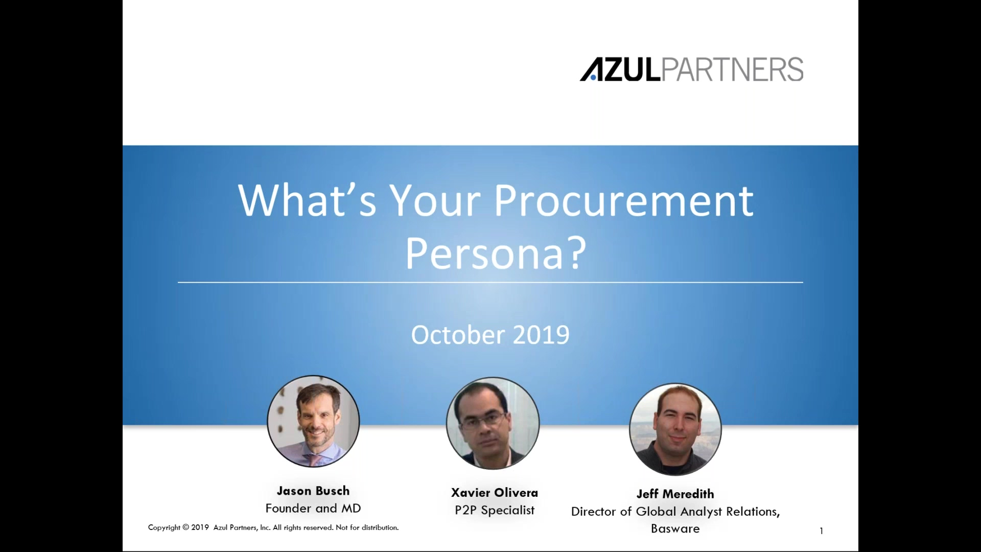 Whats Your Procurement Persona_ How to Choose P2P Technology Based on Your Needs