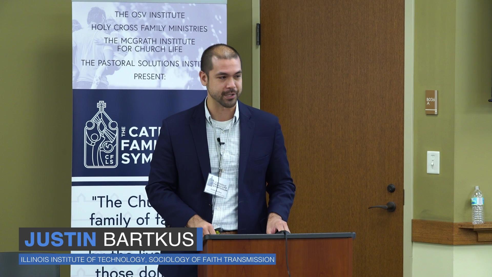 Justin Bartkus Talk
