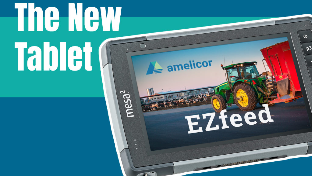 Tablet for EZfeed Promo NEW