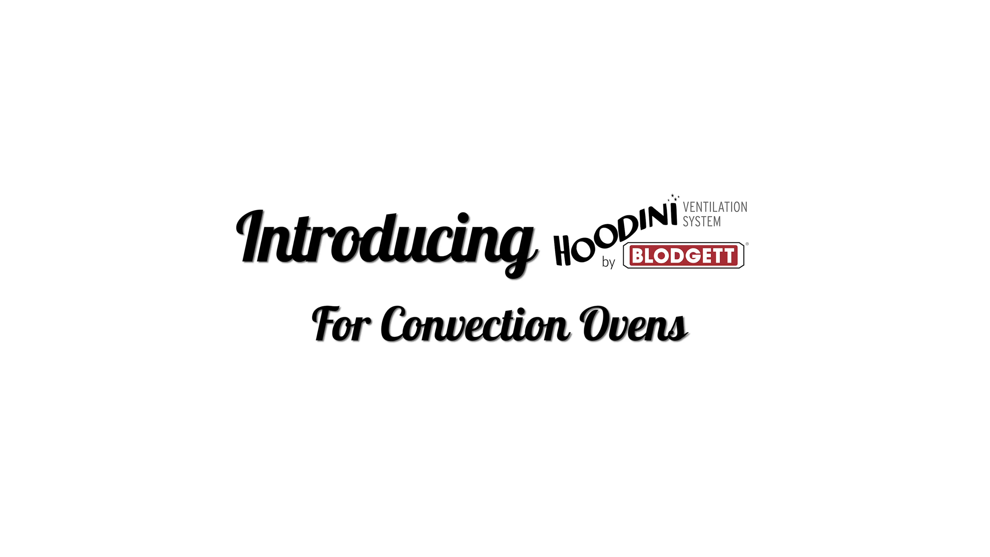 Introducing Hoodini Ventless Solutions For Convection Ovens (FINAL) (SPELL CHECKED)