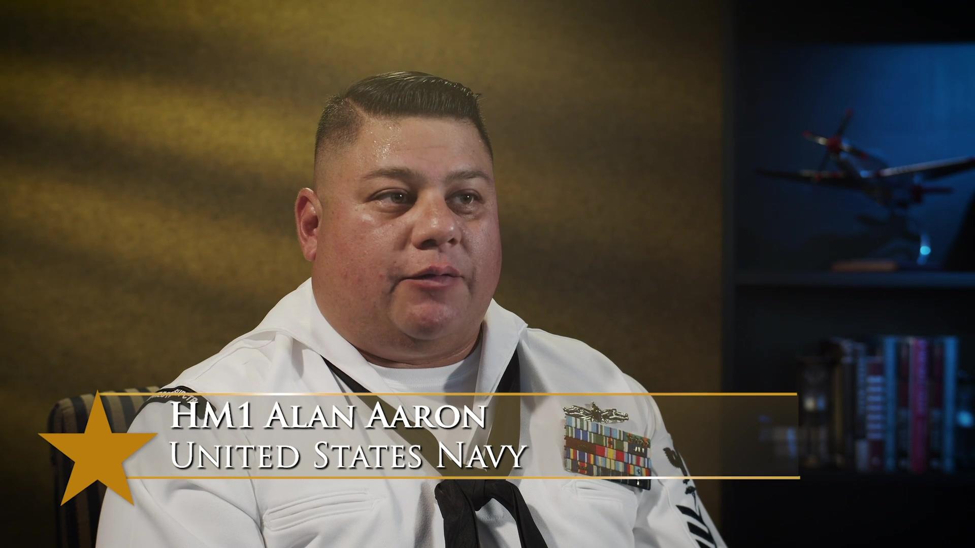 Alan Aaron, USN - Angels of the Battlefield