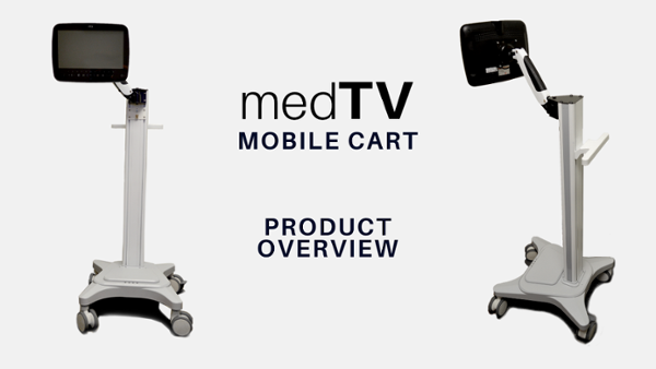 medTV Mobile Cart - 131