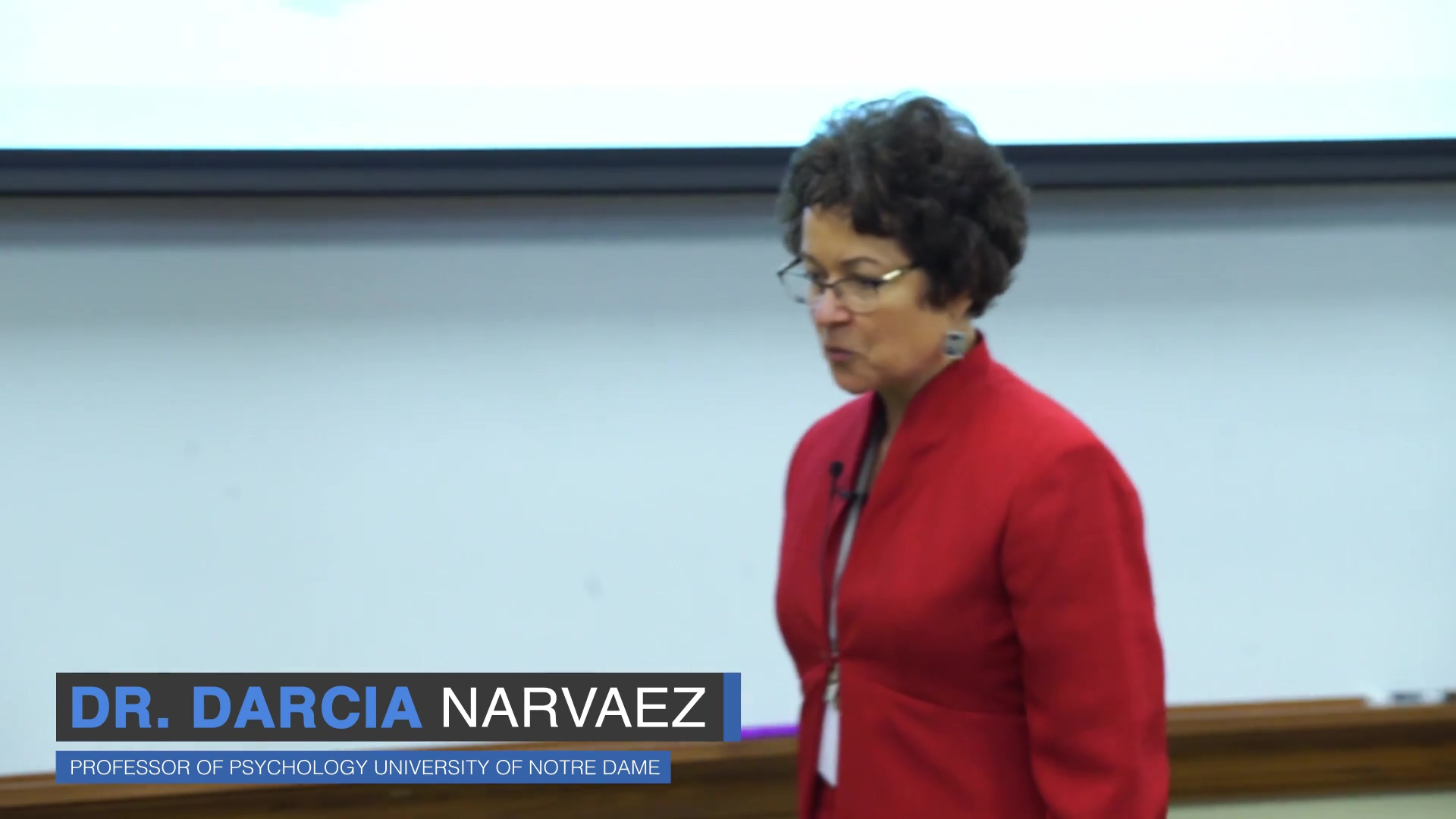 Dr.Narvaez Talk
