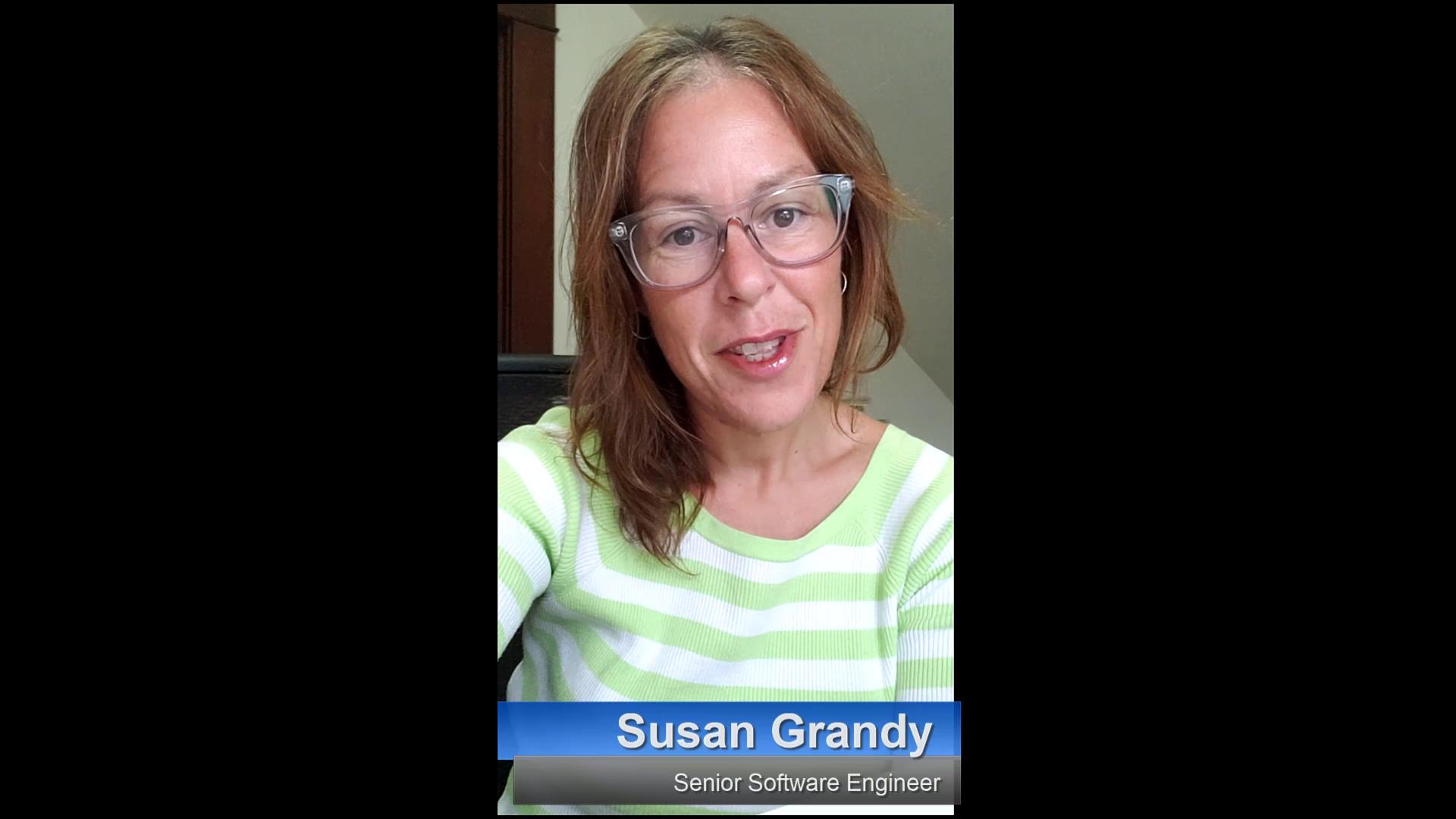 Susan COVID 19 video