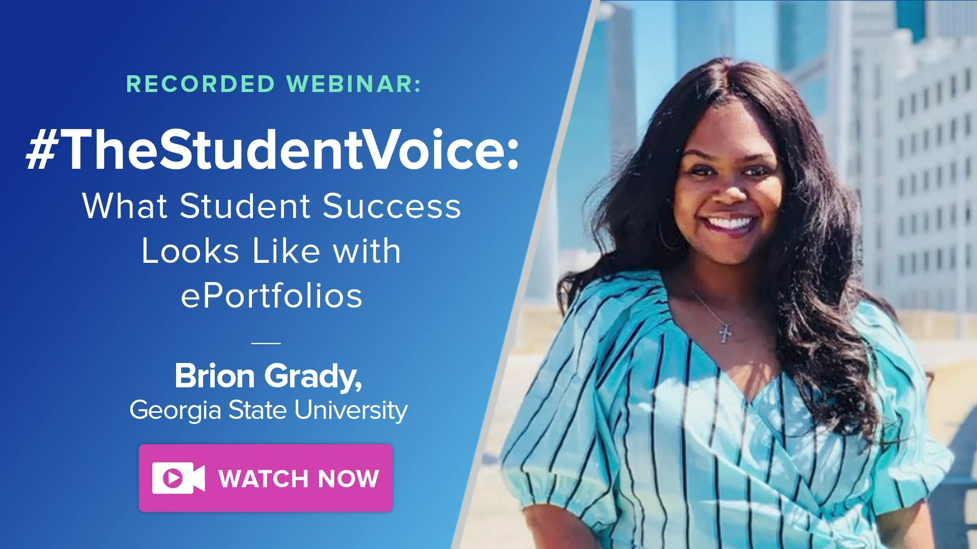Brion Grady - TheStudentVoice Webinar