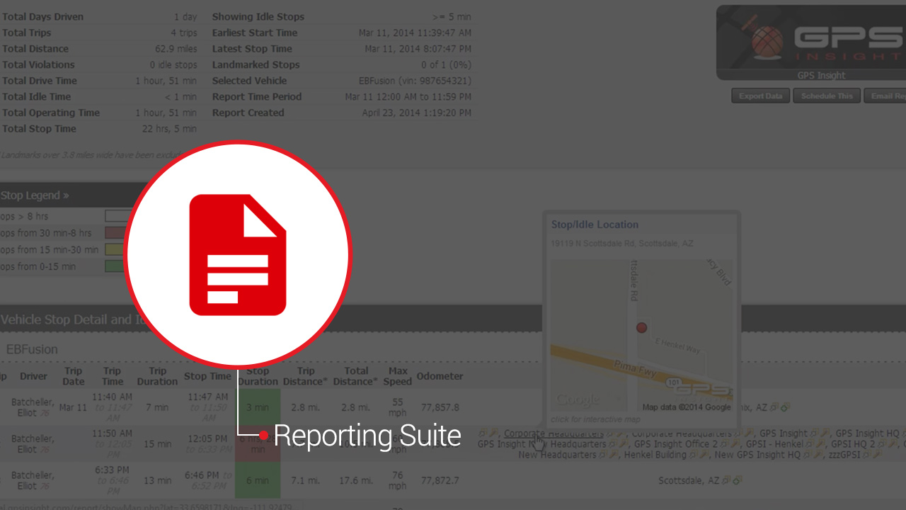 Explore GPS Insight Reporting
