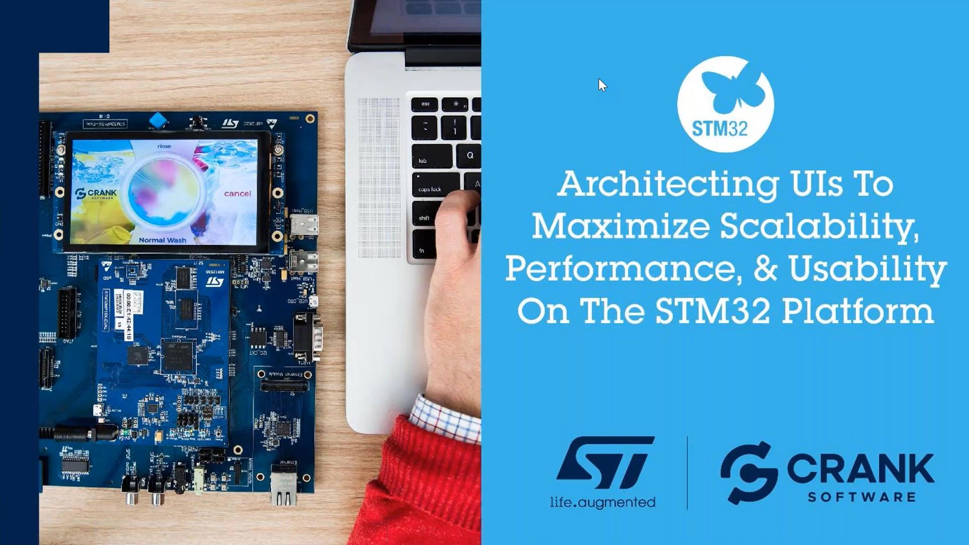Architecting UIs for Scalability and Performance on STM32 Devices