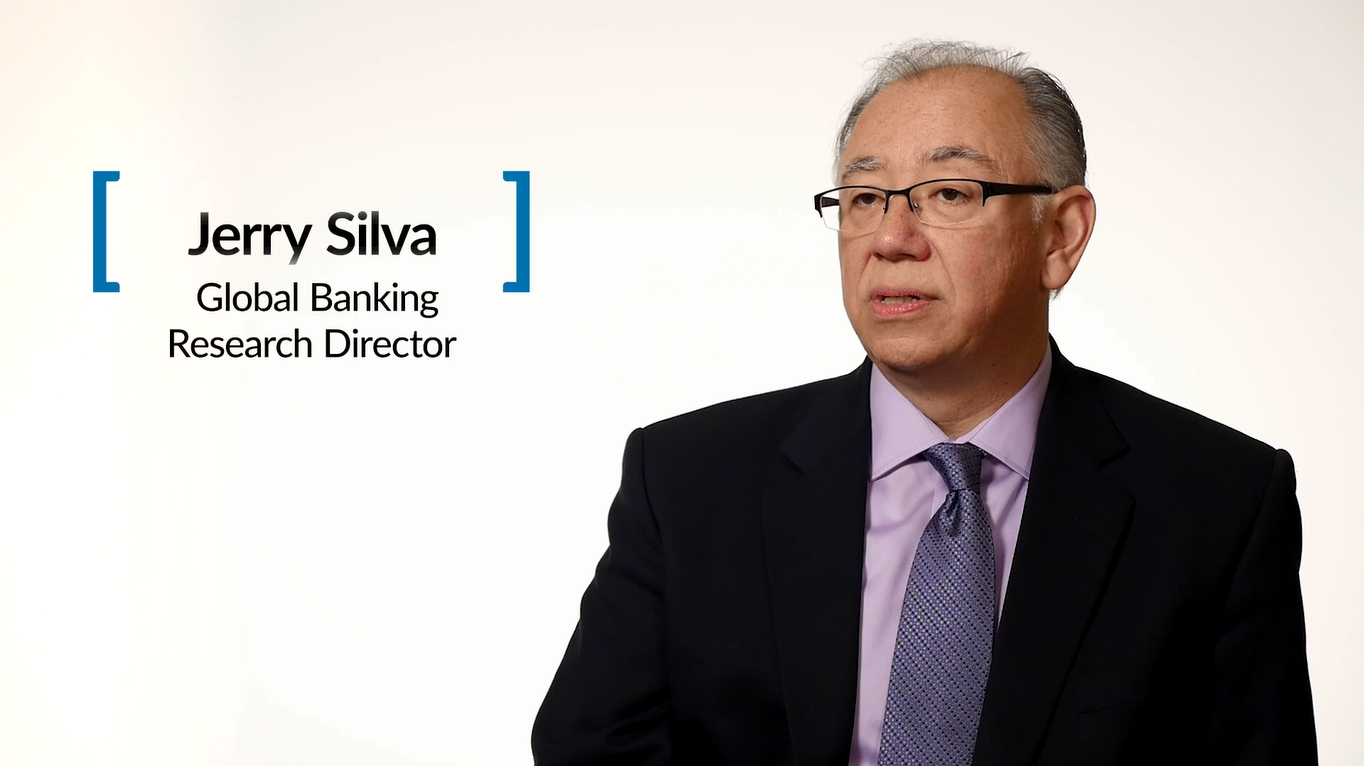 Jerry Silva discusses the top priorities for IT investments in financial services