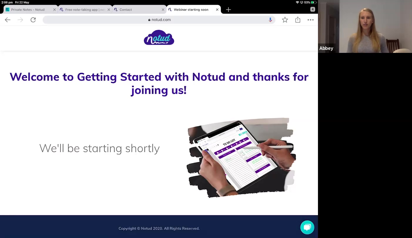 20200522 Getting Started with Notud