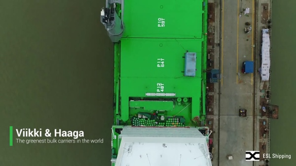 Haaga and Viikki_The greenest bulk carriers in the world