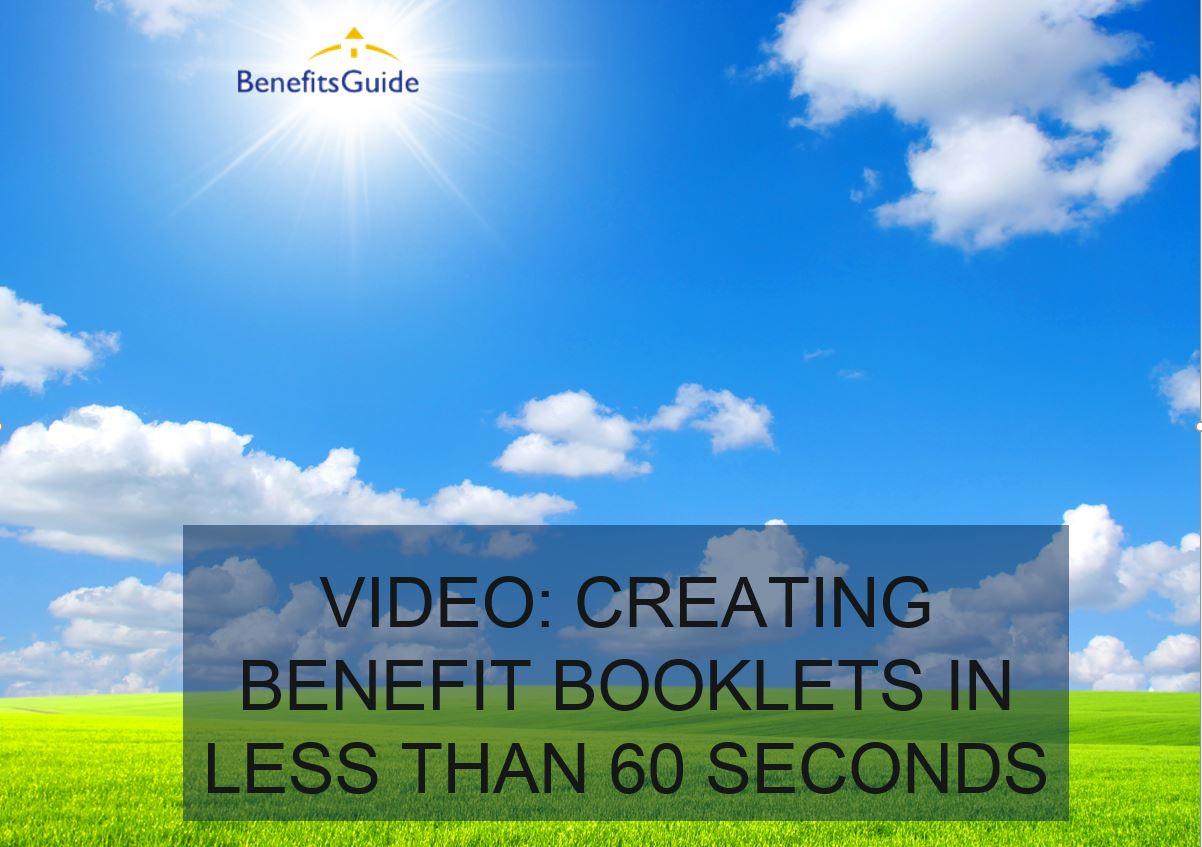 Benefit Booklets Video