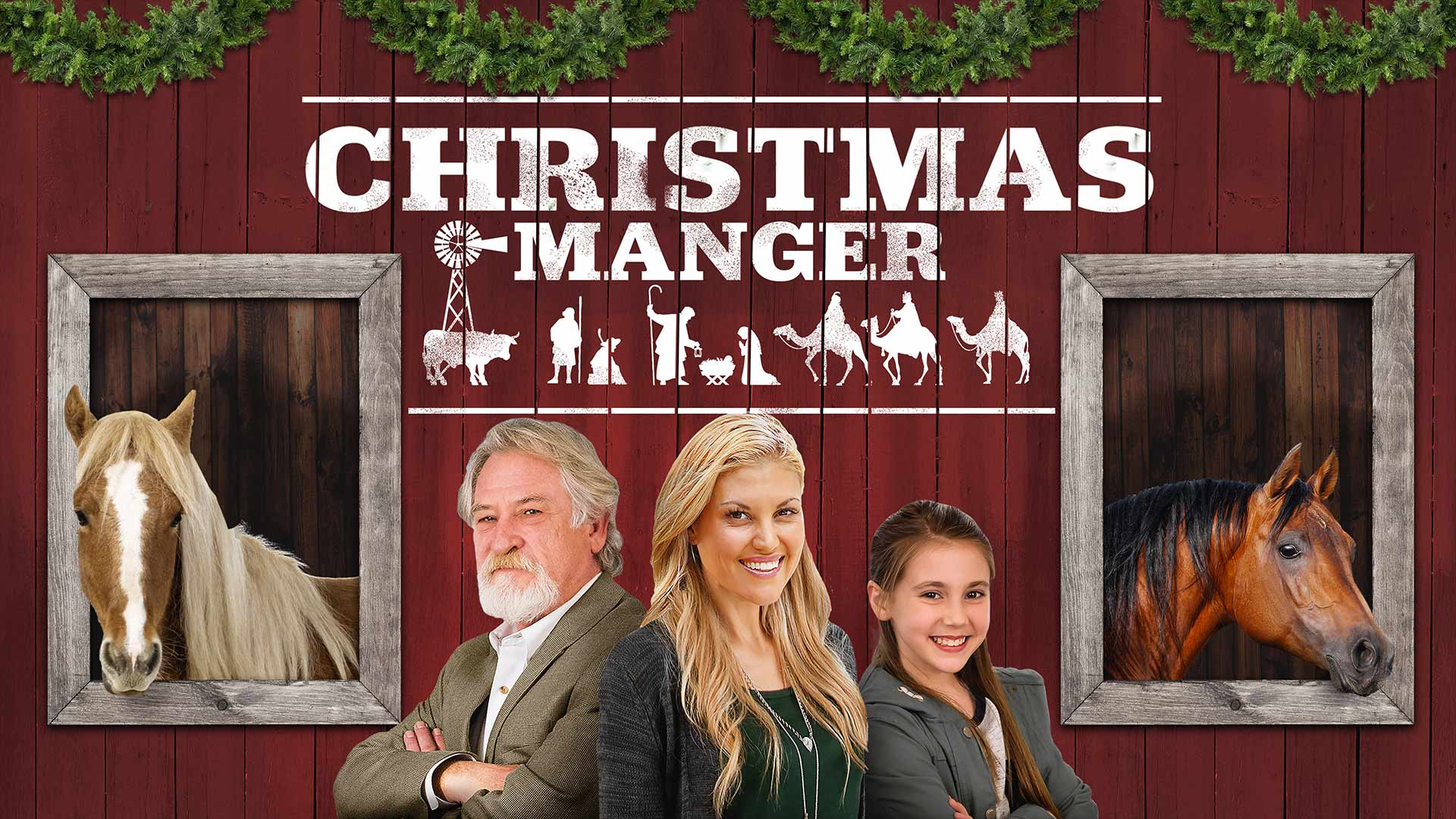 Christmas Manger Trailer