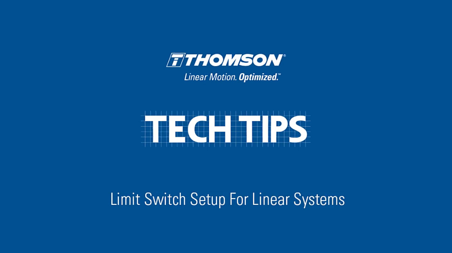 Linear Motion Systems Lesson 4 Shock Switch A Techtip Limit Vden