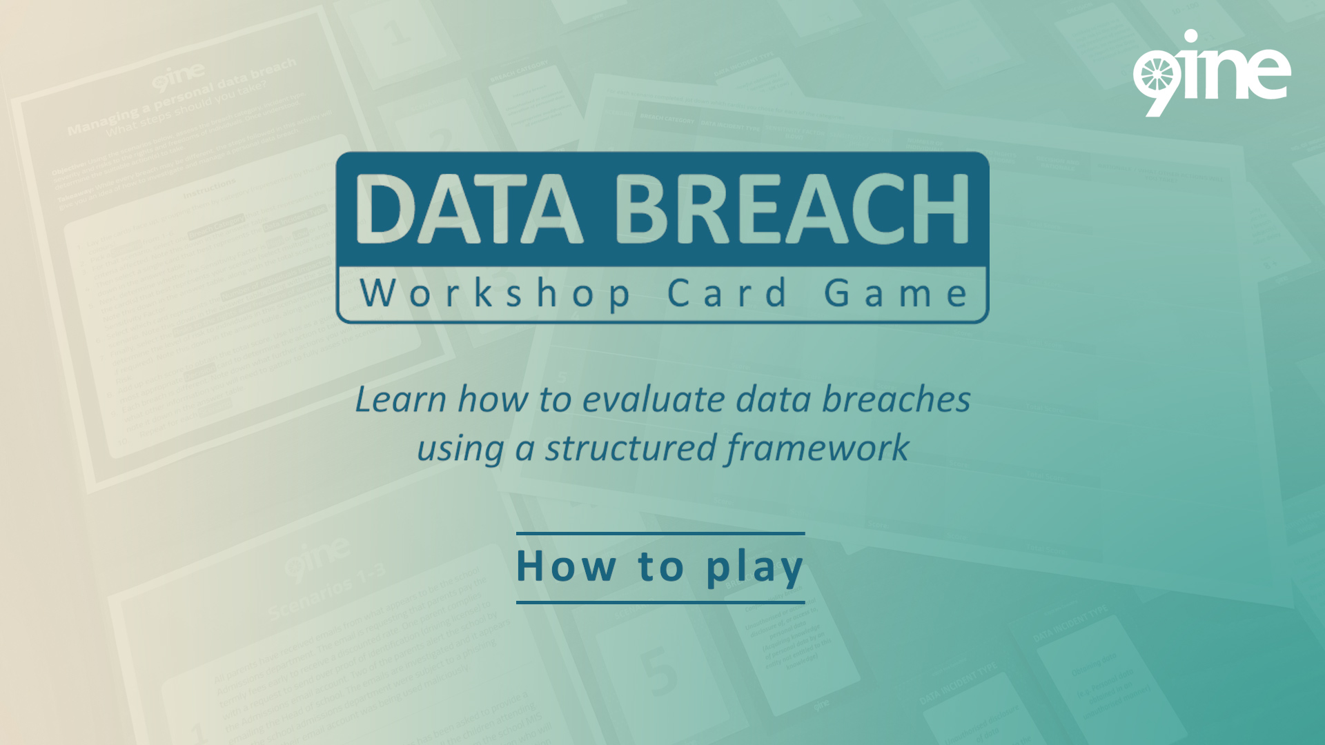 9ine_Data Breach Workshop Card Game_How to Play_POST