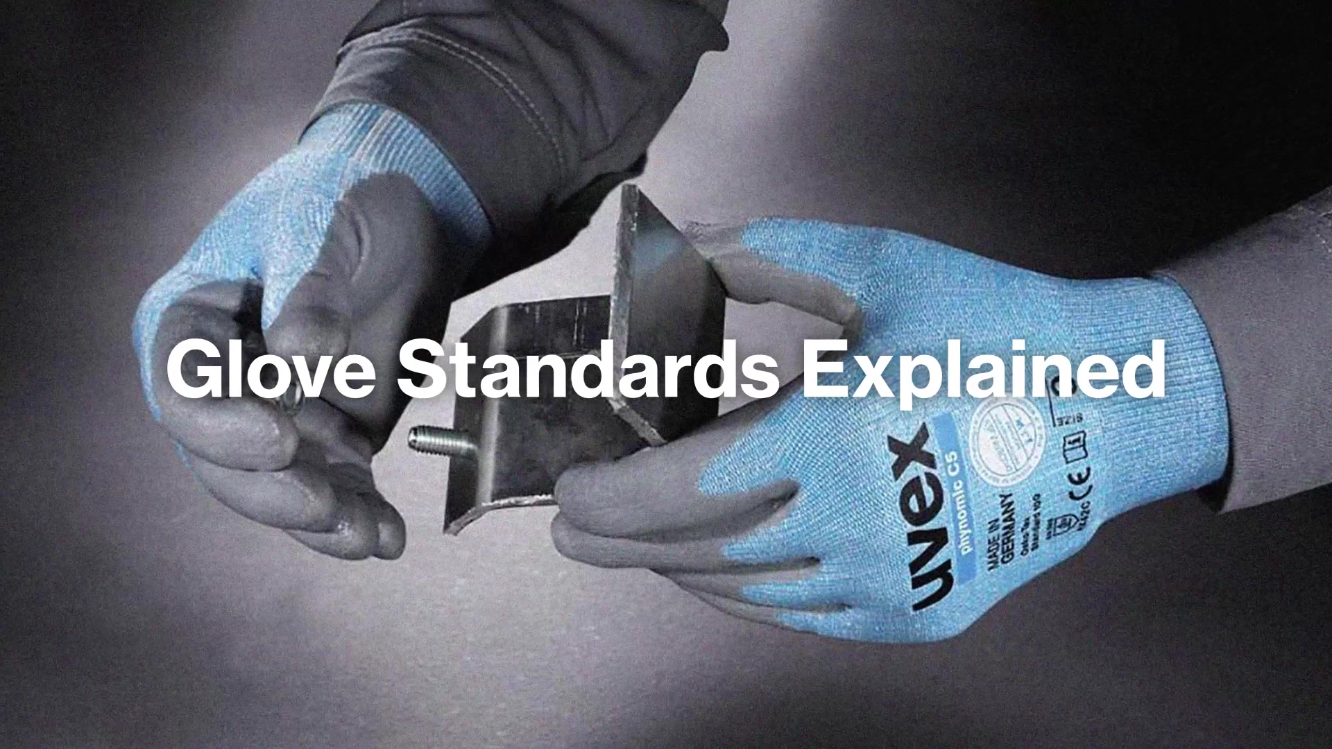 uvex Glove Standards-Youtube