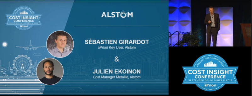 Alstom Case Study Presentation at Cost Insight 2019