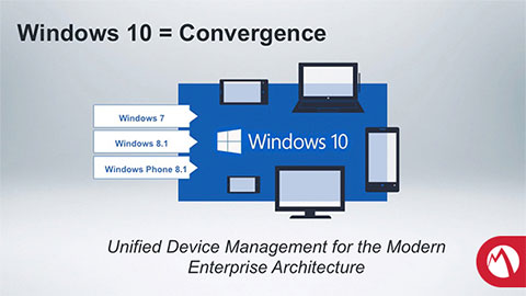 Windows 10 support in MobileIron Core 8 0