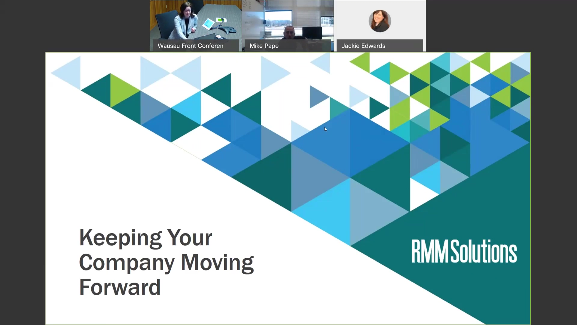 Keeping Your Business Moving Forward Recording