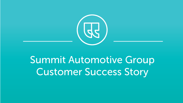 Summit Automotive Partners Case Study