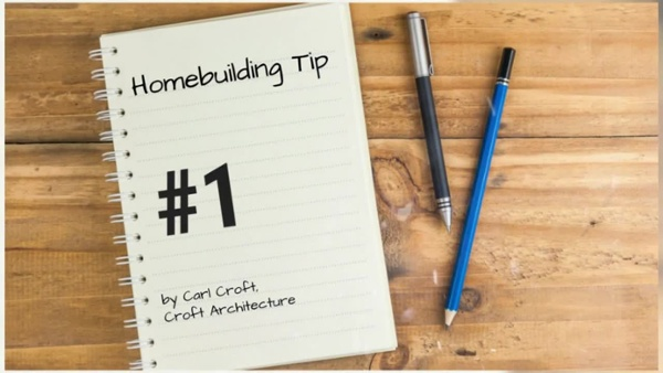 12 Tips of Christmas for Homebuilding - Tip #1 - T_HD