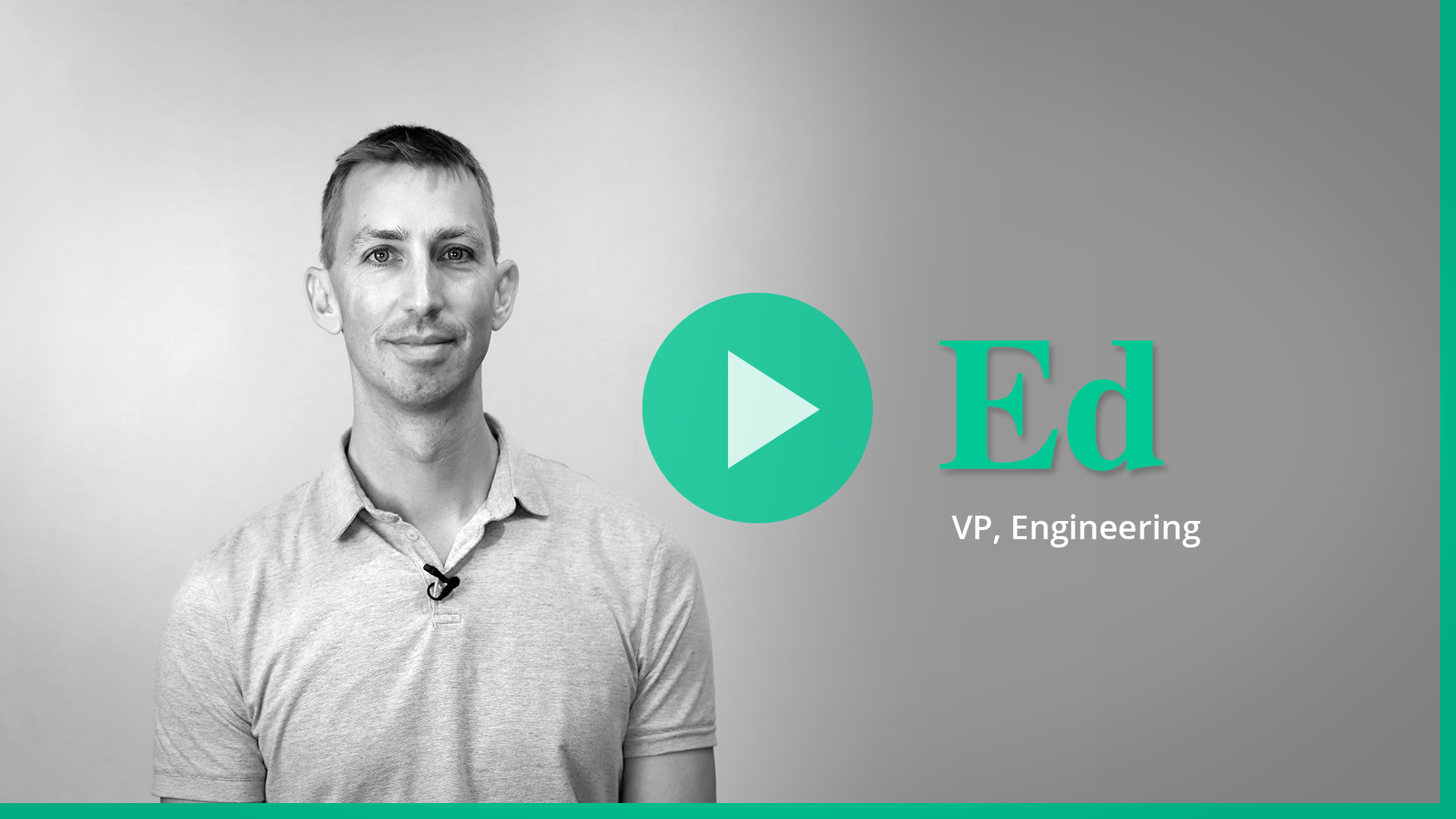 Ed video for Career page