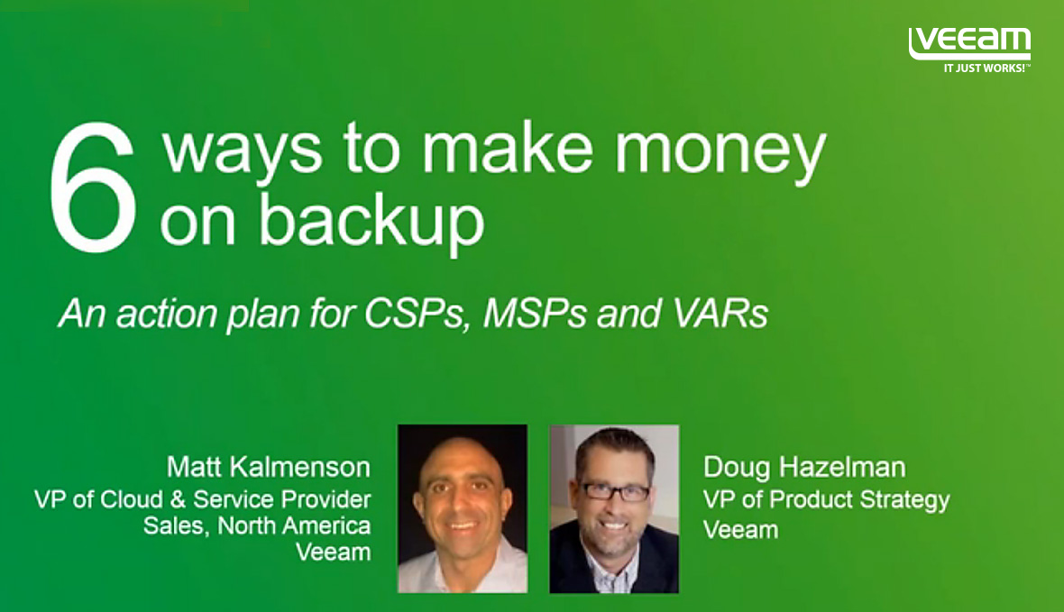 6 Ways to Make Money on Backup