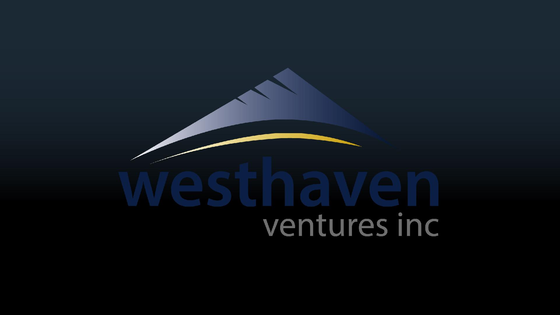 Westhaven Ventures Inc  (TSXV: WHN) - 2019 TSX Venture 50