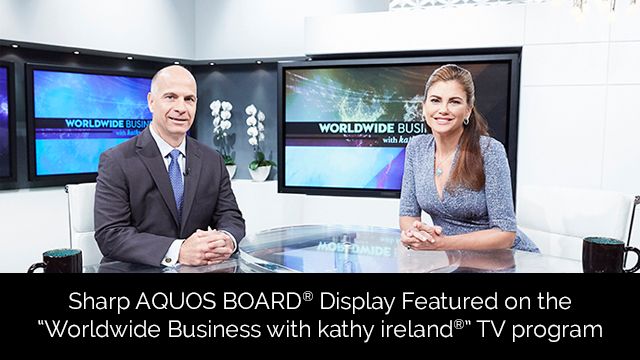 SBS Player - SHARP Electronics featured on Worldwide Business with kathy ireland