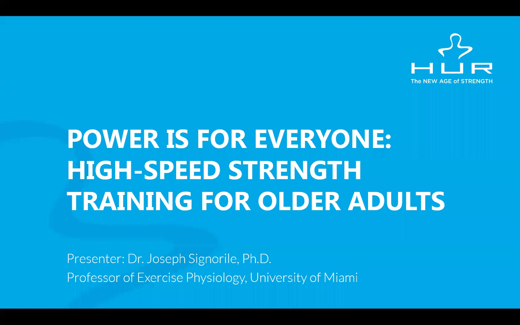 HUR Webinar - Power is for Everyone