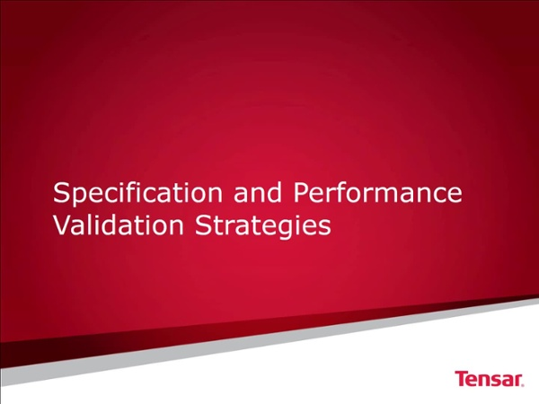 CE News Specification Strategies FINAL