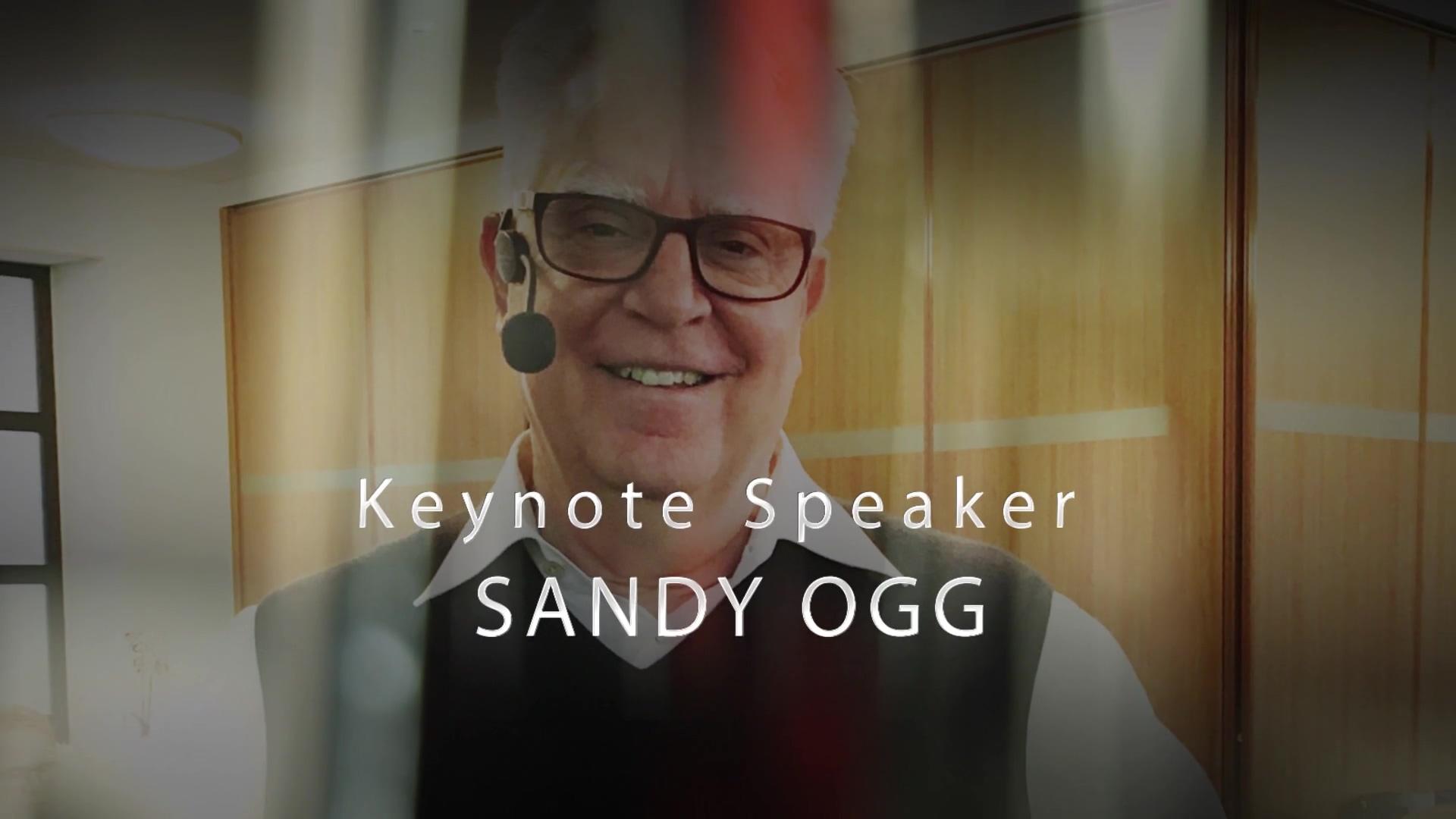 Sandy Ogg Keynote Speaker