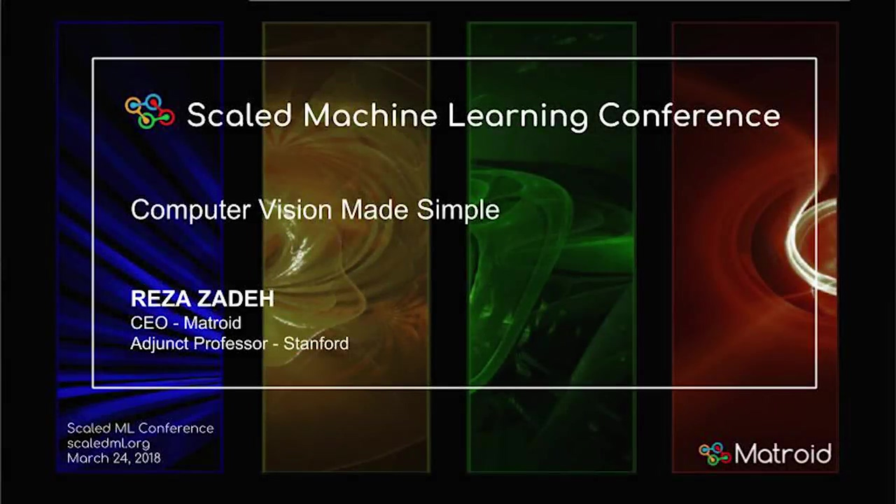 Reza Zadeh - Computer Vision Made Simple