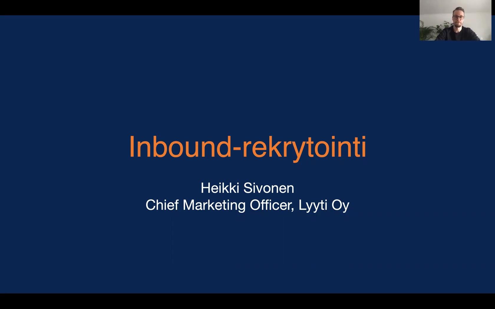 Inbound-rekry - Video 1