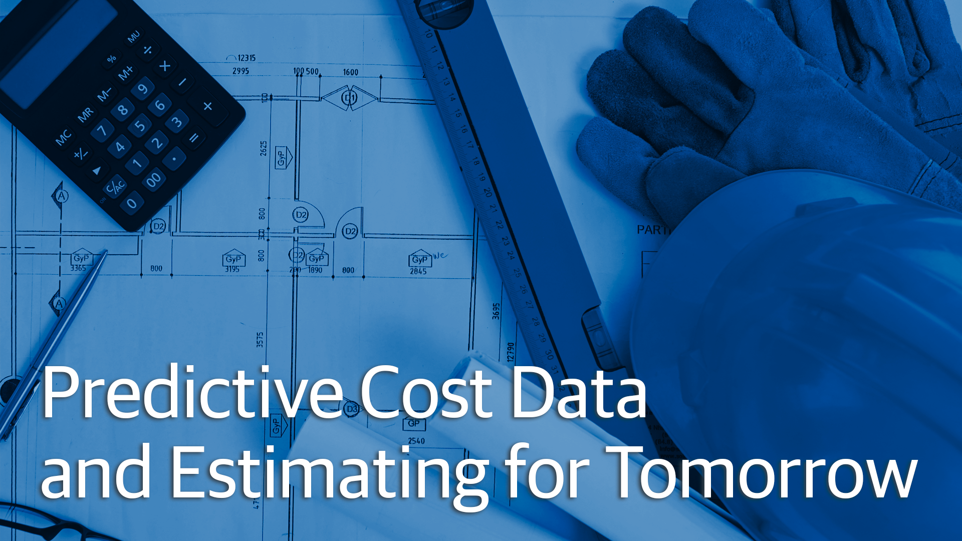 Predictive Construction Cost Data And Estimating For