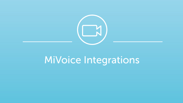 MiVoice Integrations